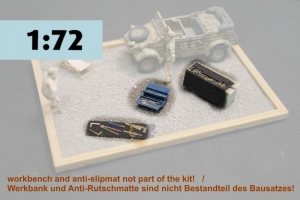 German Luftwaffe Tools Set  No. 1     M 1/72