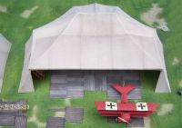German imperial airforce Maintenance Tent WW 1