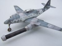 Me 262 V-1 stage 2  Me 1101 intake test conversion 1/72