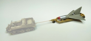 Lippisch GB-3/L + Trolley  1/72