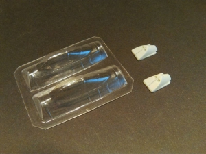 Me 262 A/B  Clear Vac Canopy set 1/72