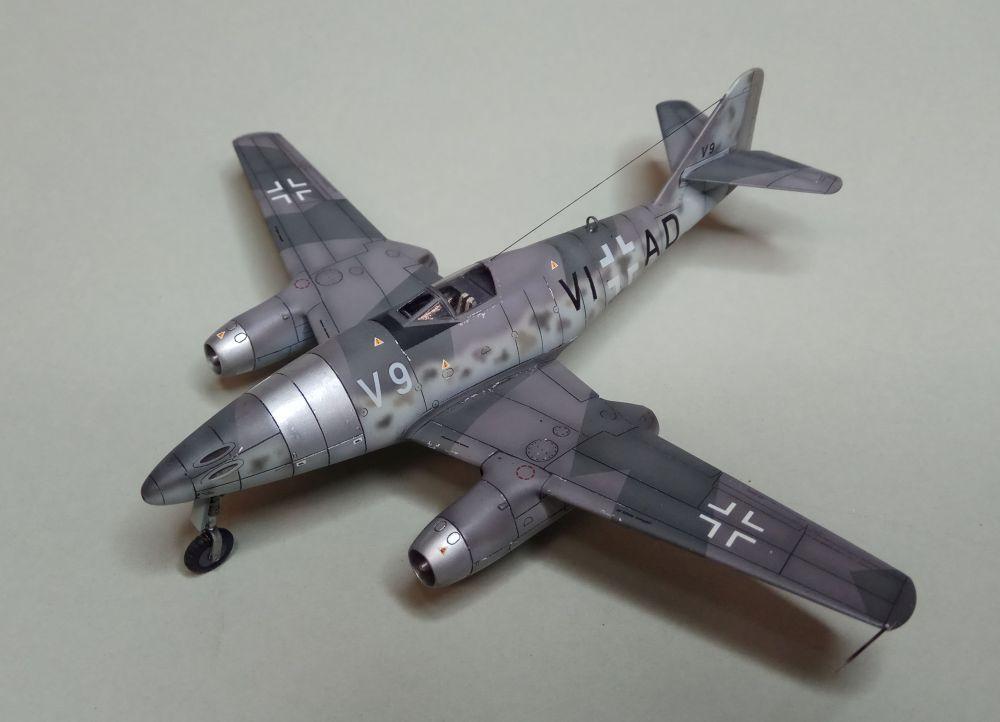 1//72 Airmodel Messerschmitt Me 262 V9 racing cabin plus wing roots conversion