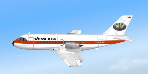 AM-351/B  VFW-614 + Decal Prototyp