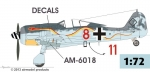 Fw 190 A-8 R6  SPECIAL EDITION  W.Gr 21 conv. + Decals 1/72